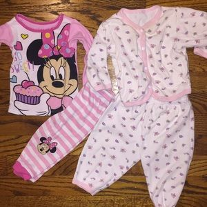 Other - Set of 2 Pajamas Top and Bottoms